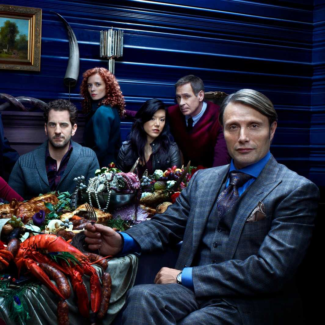 Hannibal Isn't All That Scary In Season 3 Gag Reel | Hannibal