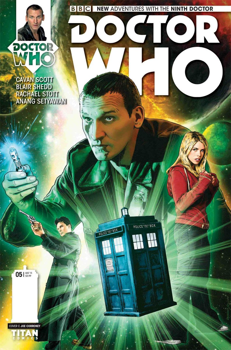 Doctor Who: The Ninth Doctor Ongoing Series Announced By Titan Comics | Ninth Doctor