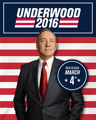 Underwood For President: House Of Cards Gets First Teaser & Posters For Season 4 | House Of Cards