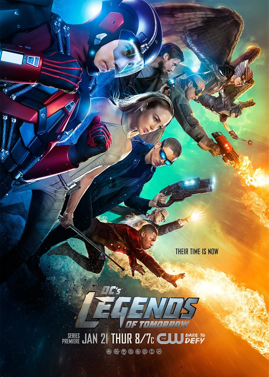 DC's Legends Of Tomorrow Gets New Character Posters   Legends Of Tomorrow