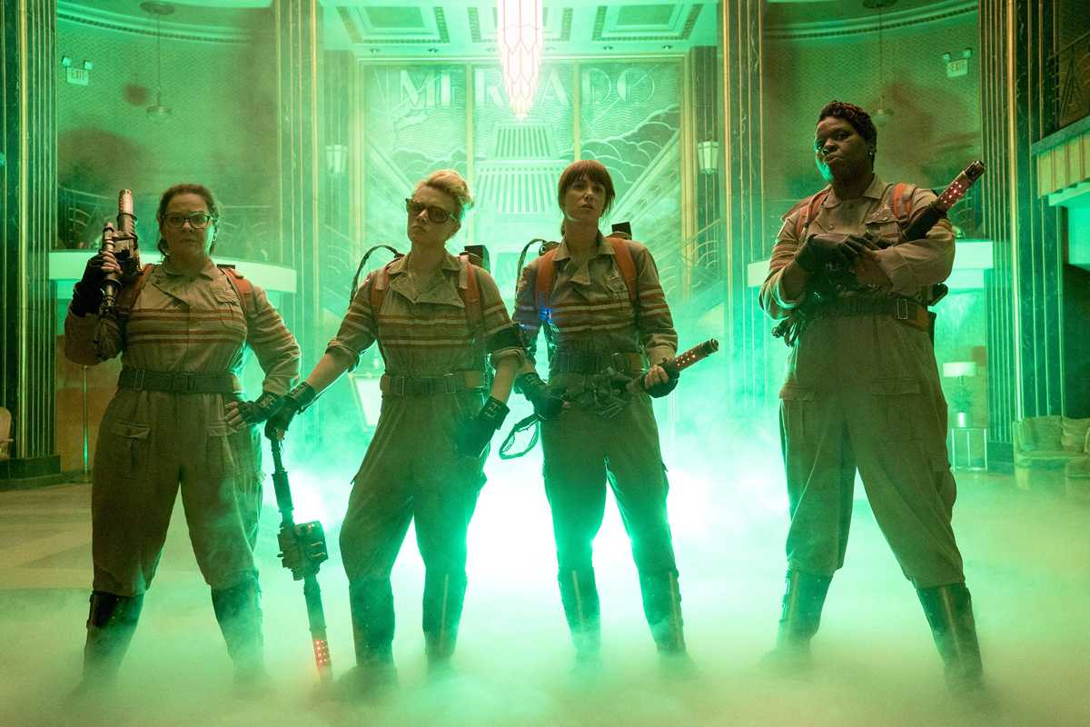 Ghostbusters Released Badass Official Images & Cast Posters | Ghostbusters