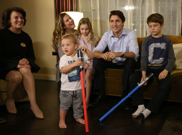 Justin Trudeau Invites CHEO Patients To Private Star Wars Screening | Trudeau