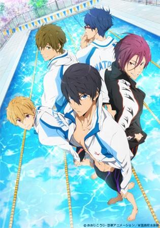 Funimation's English Dub Of Free! Iwatobi Swim Club Is Now Streaming On Crunchyroll | iwatobi swim club