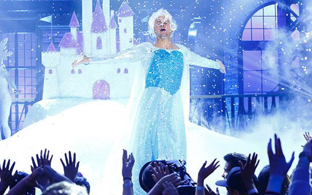 Channing Tatum Channels His Inner Elsa On Lip Sync Battle | Channing Tatum