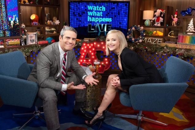 Jennifer Lawrence Reveals Juicy Secrets During Andy Cohen Interview | Jennifer Lawrence