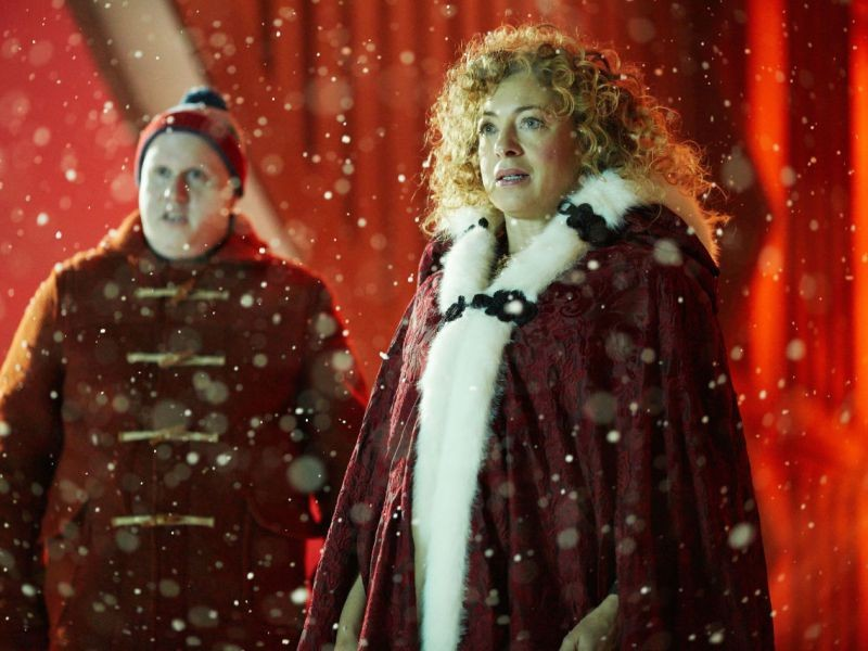 Doctor Who: Christmas Special, The Husbands Of River Song | River Song