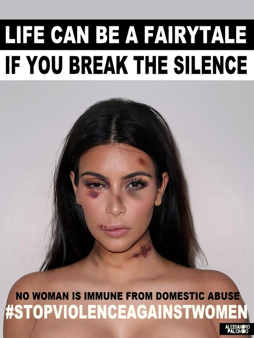 Celebrities Raise Awareness For Violence Against Women | violence against women