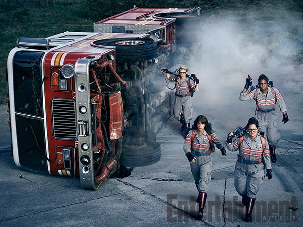 New Ghostbusters Image And Villains Revealed | Ghostbusters