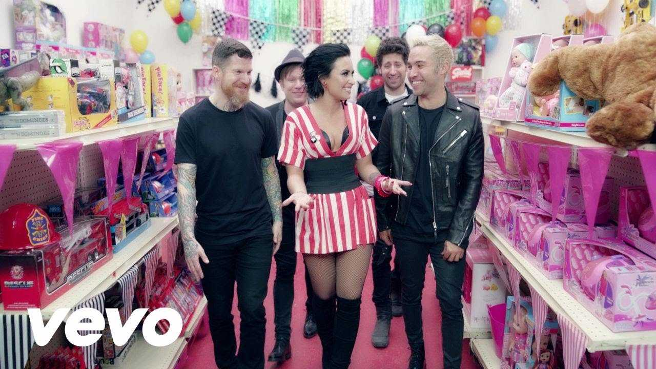 Fall Out Boy And Demi Lovato Pay Homage To 'N Sync In 'Irresistible' Video | Fall Out Boy