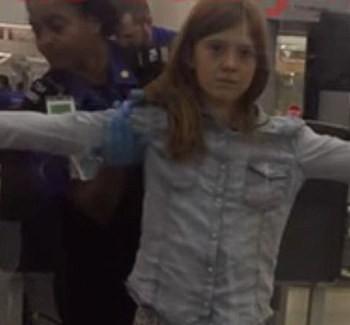 TSA Traumatizes 10 Year Old With Pat Down Search | TSA