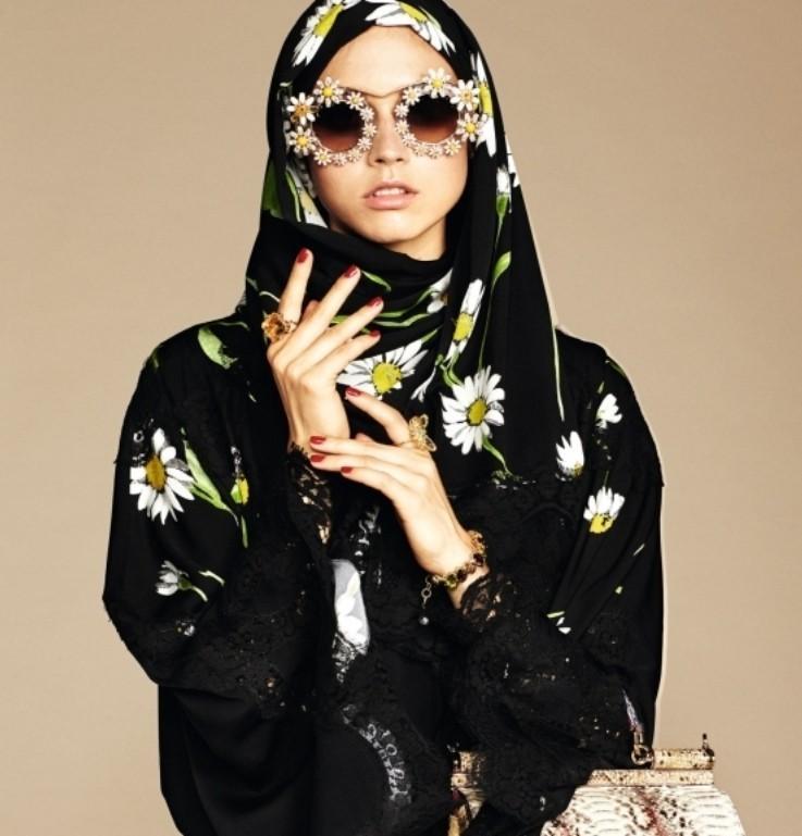 Dolce & Gabbana Releases New Hijab and Abaya Line | Dolce & Gabbana