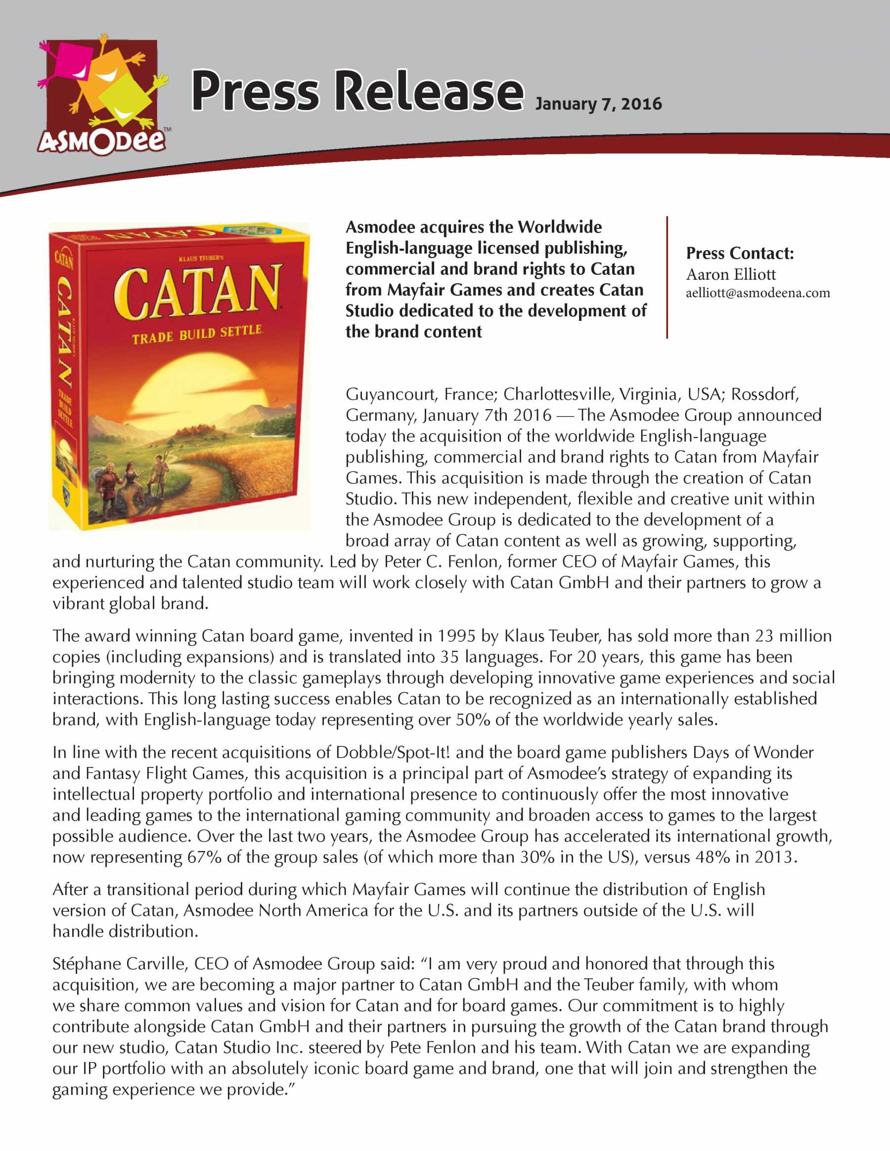 World-Famous Tabletop Game 'Catan' Has A New Home | Catan
