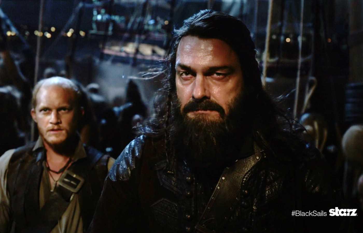 Ray Stevenson Talks Blackbeard's Legacy On Season 3 Of Black Sails | Stevenson