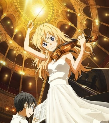 Aniplex Of America Announce The English Dub Cast Of 'Your Lie In April' | Your Lie In April