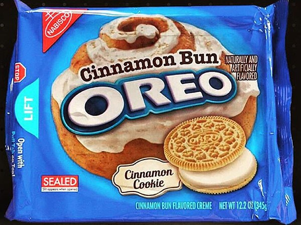Nabisco Releases Cinnamon Bun Oreos And They Are... | Oreos