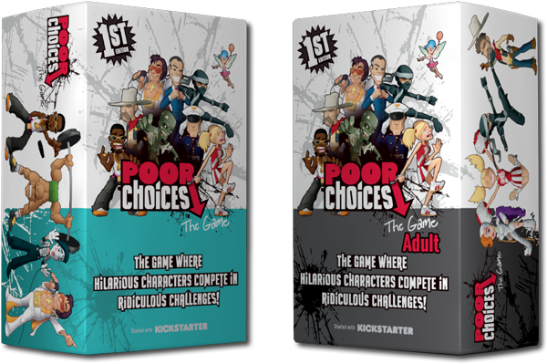 Review: Poor Choices Is The Kickstarter Game You Never Knew You Needed | Poor Choices