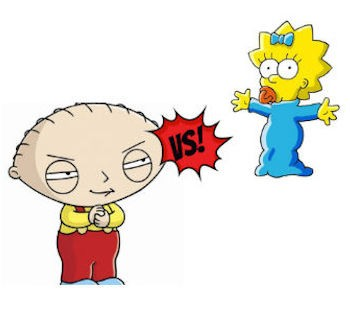TV Character Showdown: Stewie Griffin Vs. Maggie Simpson | Stewie