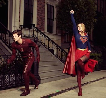 DC Collides: Grant Gustin To Guest Star On Supergirl | DC