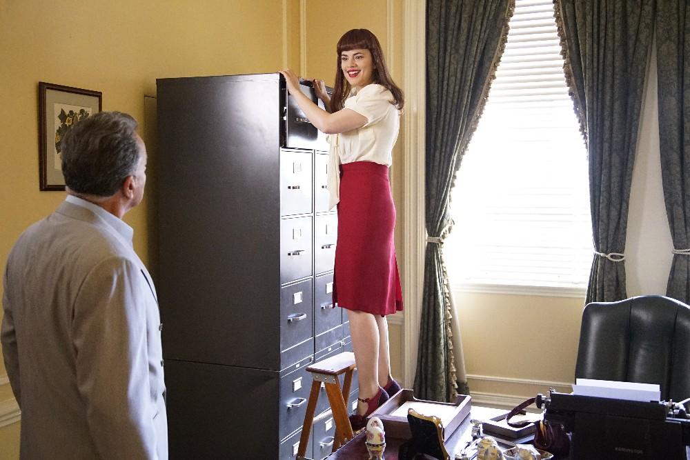 Agent Carter's Closet: The Atomic Job   Agent Carter
