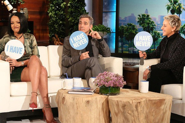 Rihanna And George Clooney Saw A Rapper Naked | Rihanna