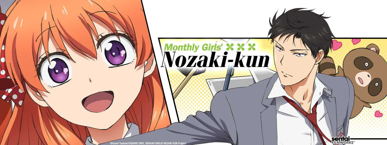 Sentai Filmworks Previews Monthly Girls' Nozaki Kun English Dub | Monthly Girls' Nozaki kun