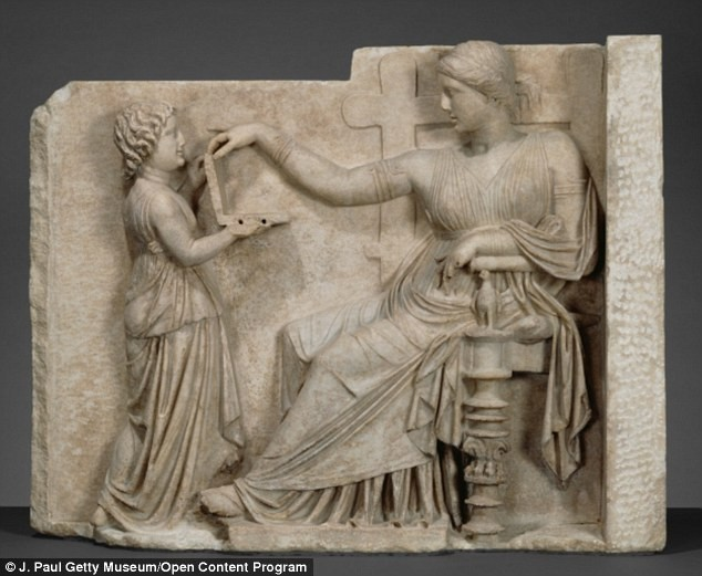 Is This Ancient Greek Sculpture Depicting A Laptop? | Greek