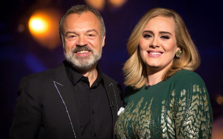 Adele And Graham Norton Hilariously Photobomb Fans | Adele