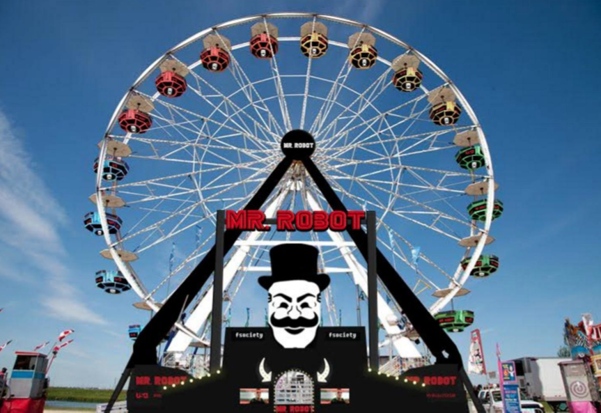 Mr. Robot Returns To SXSW With 10-Story Ferris Wheel From FSociety Headquarters | Mr. Robot
