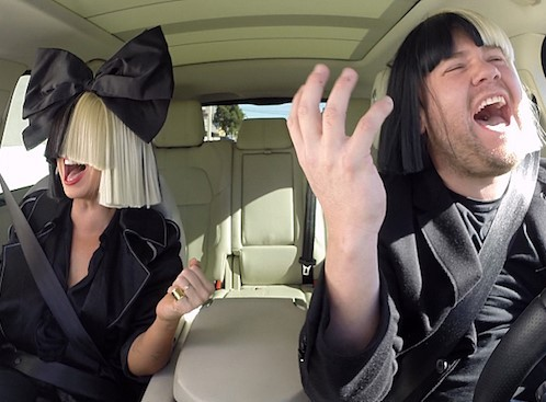Sia Joins James Corden In Newest Carpool Karaoke | Sia