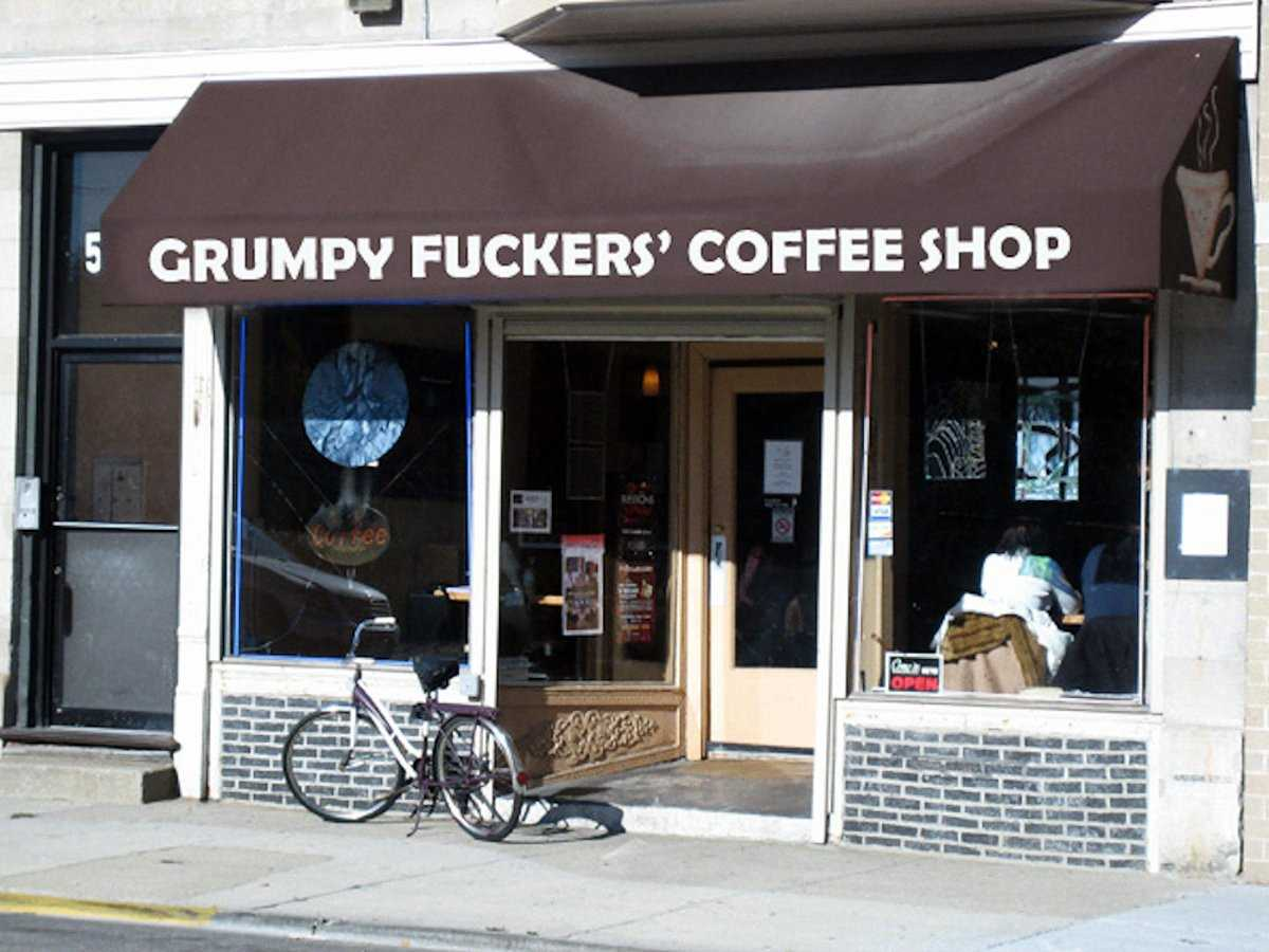 Grumpy Fuckers Coffee Shop Opens Against Better Judgment | grumpy fuckers