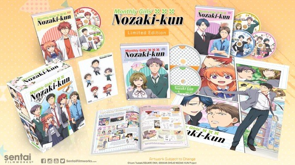 Ty Mahany And Juilet Simmons Join The English Dub Of Monthly Girls' Nozaki-Kun | Monthly Girls' Nozaki-kun
