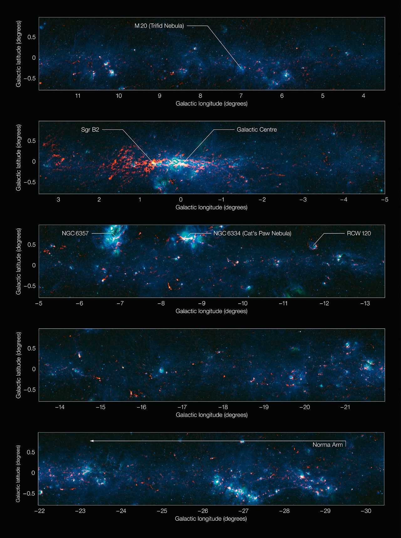 New Detailed Map Of Milky Way Completed By Scientists | milky way