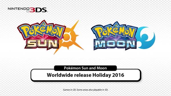 Nintendo Announces 2016 Release Of Pokemon Sun And Pokémon Moon | Pokemon