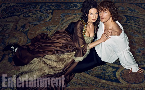 Why Entertainment Weekly's Steamy Outlander Cover Was Completely Necessary | outlander