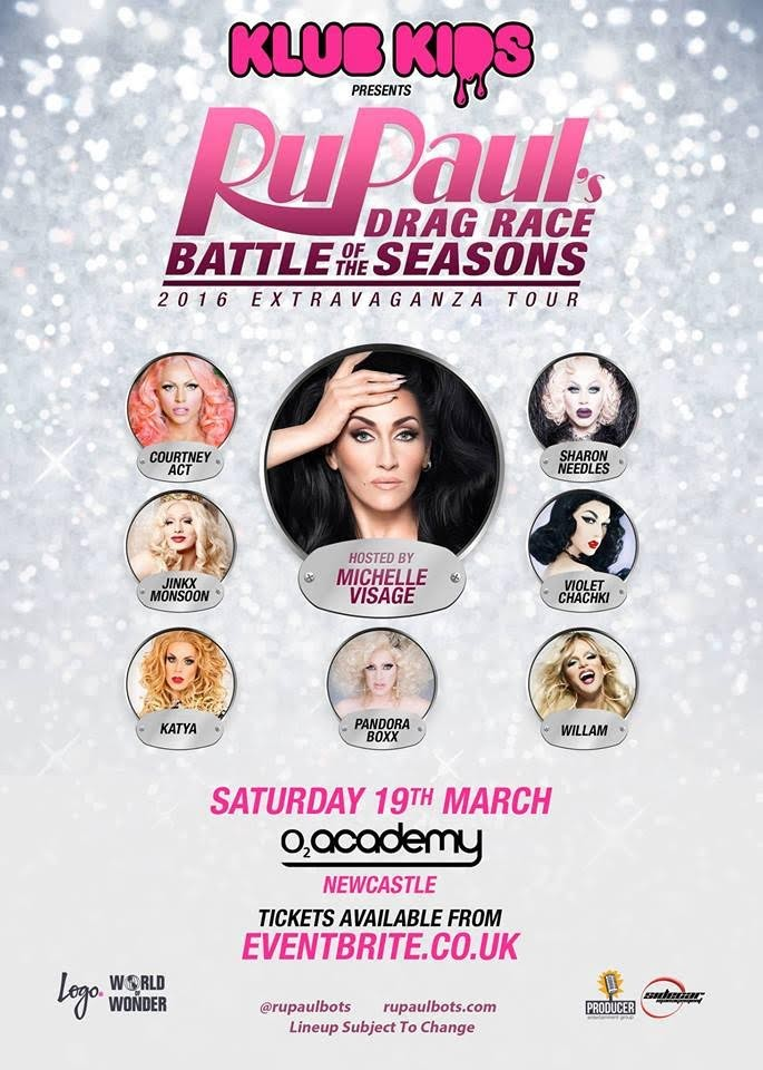 International Drag Sensations Of RuPaul's Drag Race Taking Over North East England | RuPaul's Drag Race