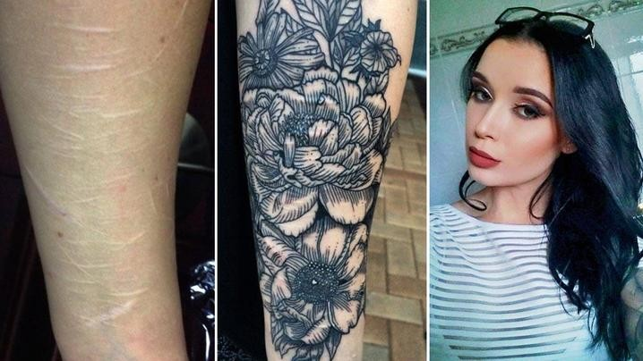 Australian Tattoo Artist Whitney Develle Offering Free And Discounted Tattoos To Cover Self-Harm Scars | Whitney Develle