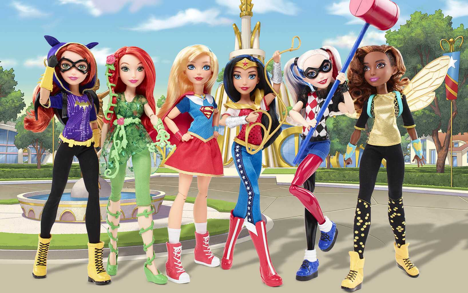 Mattel Promotes Girl Power With New DC Superhero Action Figure Line | Mattel