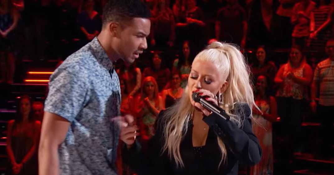 Christina Aguilera Shares A Surprise Duets With A 'Voice' Contestant! | Christina Aguilera