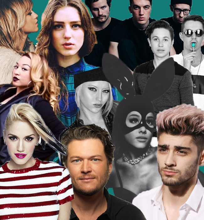 #MusicMonday Feat. Ariana Grande, Zayn Malik, Gwen Stefani, And More | #MusicMonday