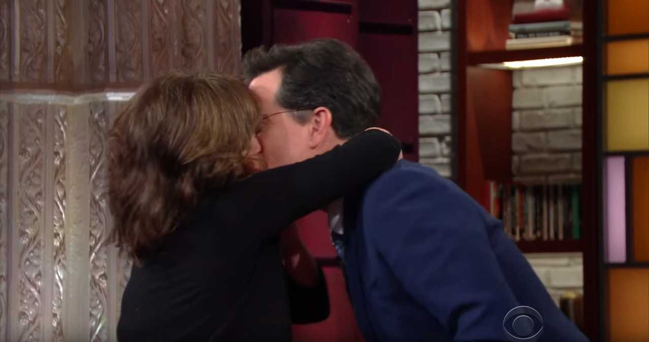 Stephen Colbert Kisses His Way Through Late Night | Stephen Colbert