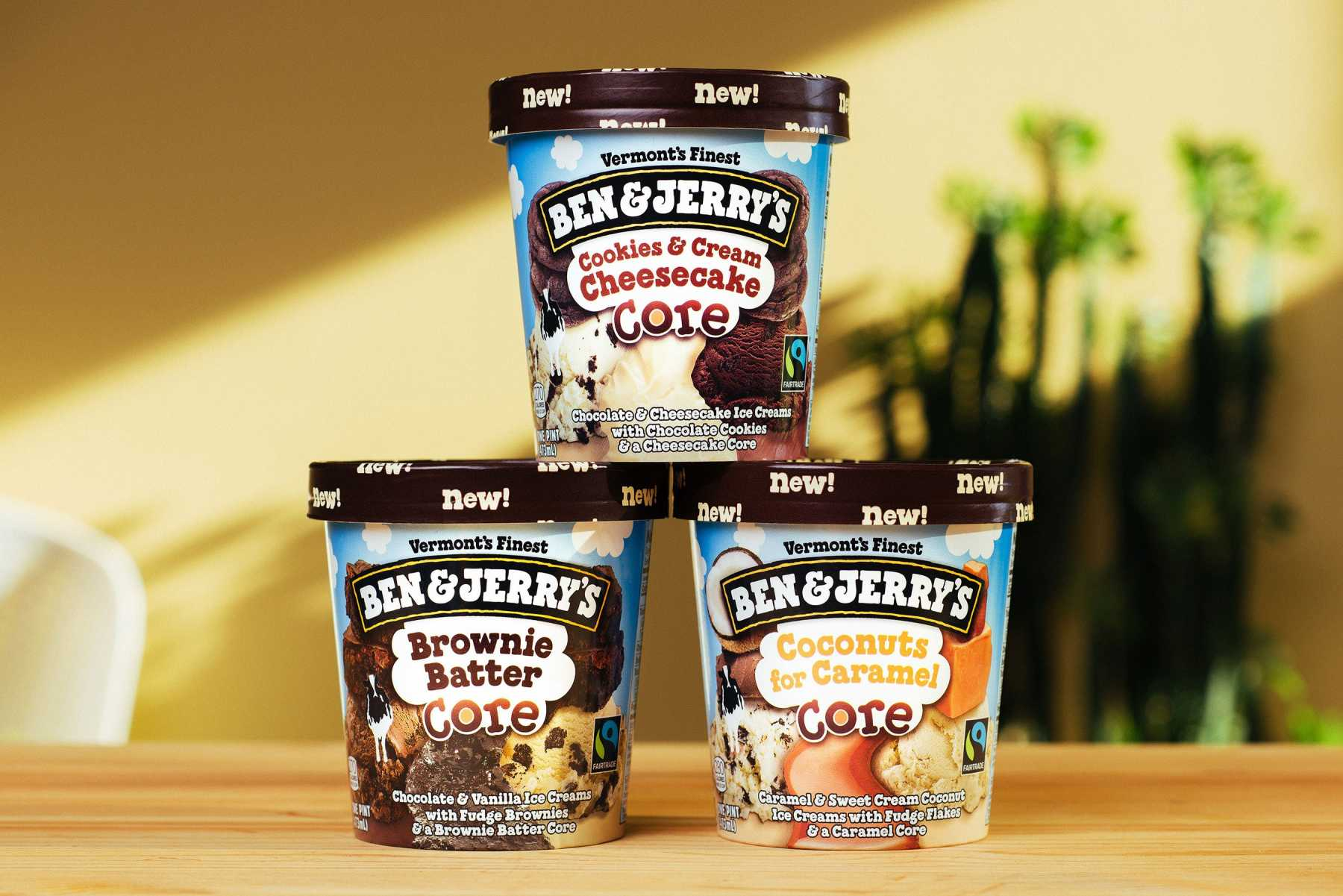 Ben And Jerry's Add Delectable New Core Flavors | Core
