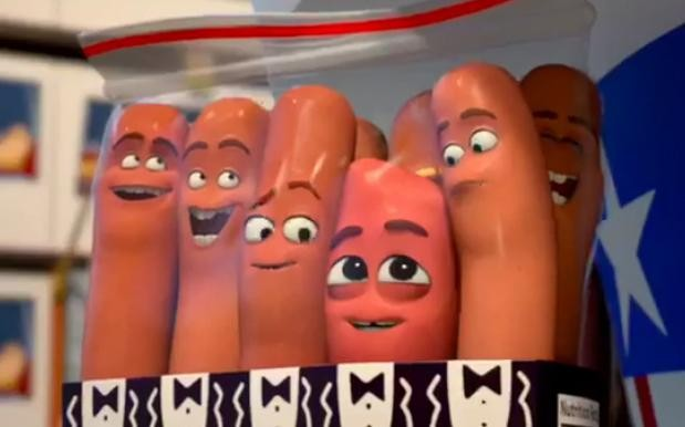 Seth Rogen's R-Rated 'Sausage Party' Makes A Lasting Impression With First Trailer | sausage party