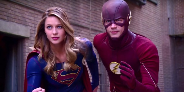 Supergirl And The Flash Explain The DC Multiverse | supergirl
