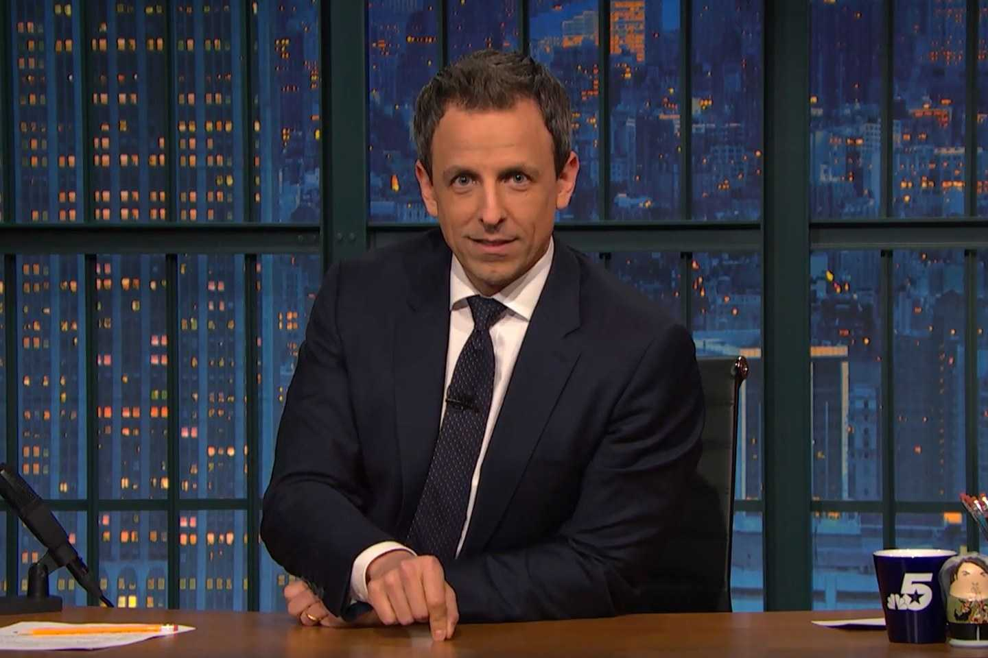 Seth Meyers And Alexi Ashe Welcome First Child | Seth Meyers