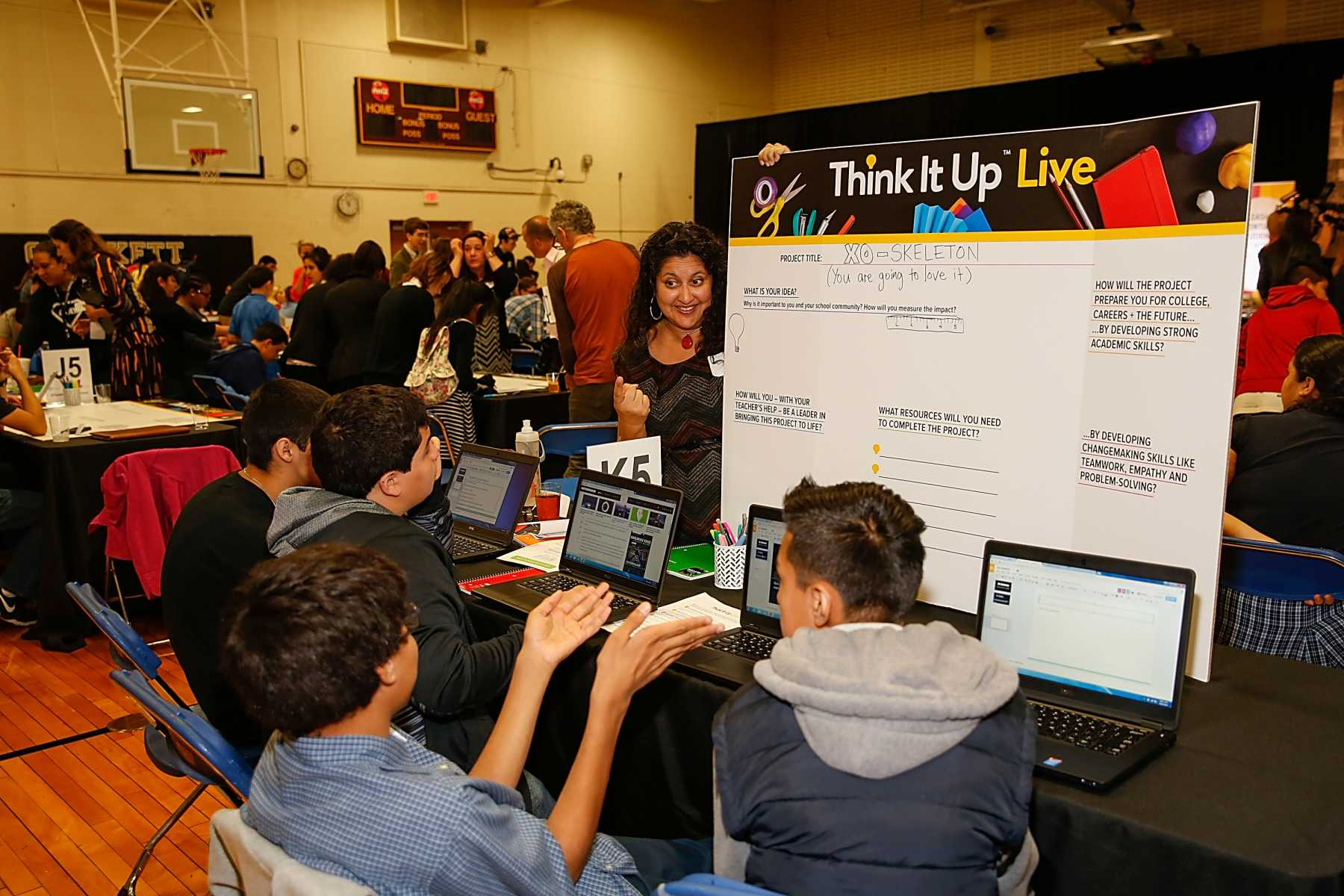 Think It Up Live Showcases Students Who Problem Solve For The Future | Think It Up