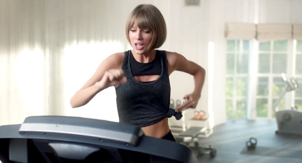 Taylor Swift Face Plants In Hilarious New Apple Ad | Taylor Swift