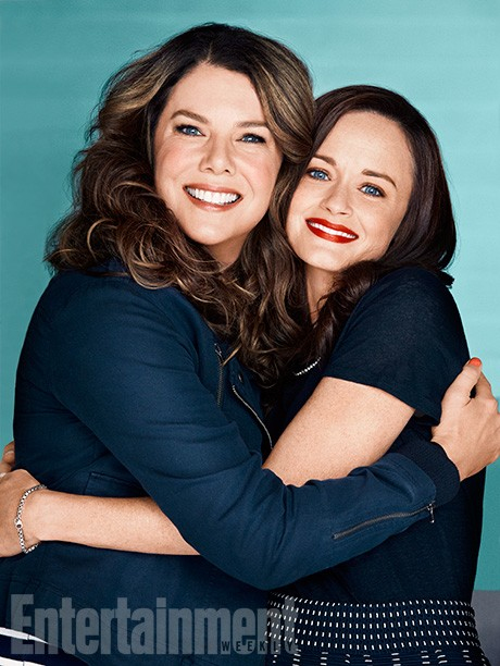 First Look Photos At The Gilmore Girls Revival Tease Rory's Career And Lorelai's Love Life | Gilmore Girls