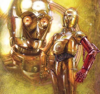 We Finally Know Why C-3PO's Arm Is Red In The Force Awakens | C-3PO