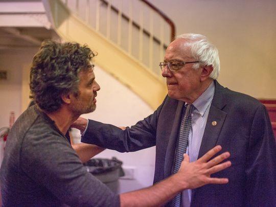 Mark Ruffalo Feels The Bern In Interview With Bernie Sanders | Mark Ruffalo