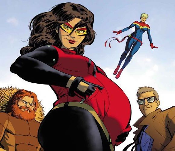 Jessica Drew's Baby Belly: Why Spider-Woman's Pregnancy Matters | Spider-Woman